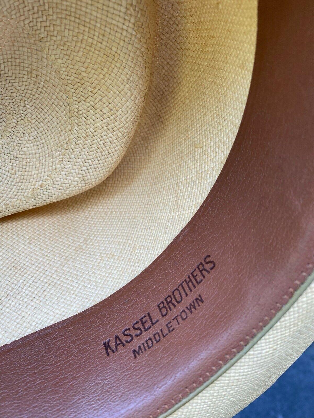Vintage Stetson Wide Brim Straw Hat with box - image 1