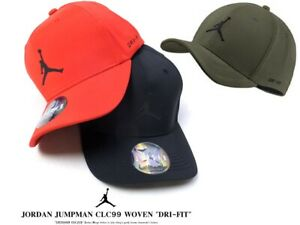 8911c429f91 Nike Jordan Cap Jordan Classic 99 Woven Flex-Fit Hat Jumpman Gym Red ...