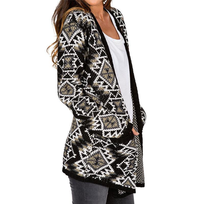 2015 NWT damen ELEMENT ReY SWEATER  70 M autodigan schwarz Grün Weiß knitted