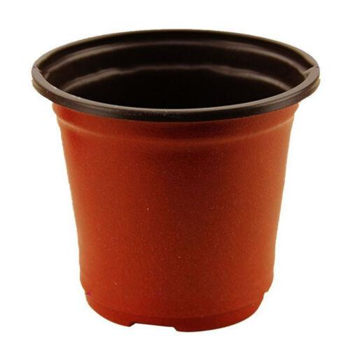 20Pcs Flower Pots Flowerpot Garden Unbreakable Plastic Nursery Pots 90X60X80mm