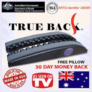 True Back Trueback Australia Back Pain Relief Traction Device. Made in USA!