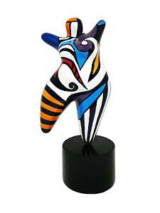 Hommage an Niki de Saint Phalle Nana Molly dicke Frau 20020 Dolly Figur XL