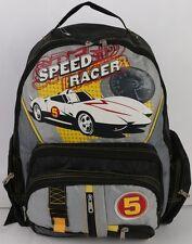 """Speed Racer 16"""" Large Backpack Book Bag Boys Mach Go Go Go Japanese Manga Anime"""