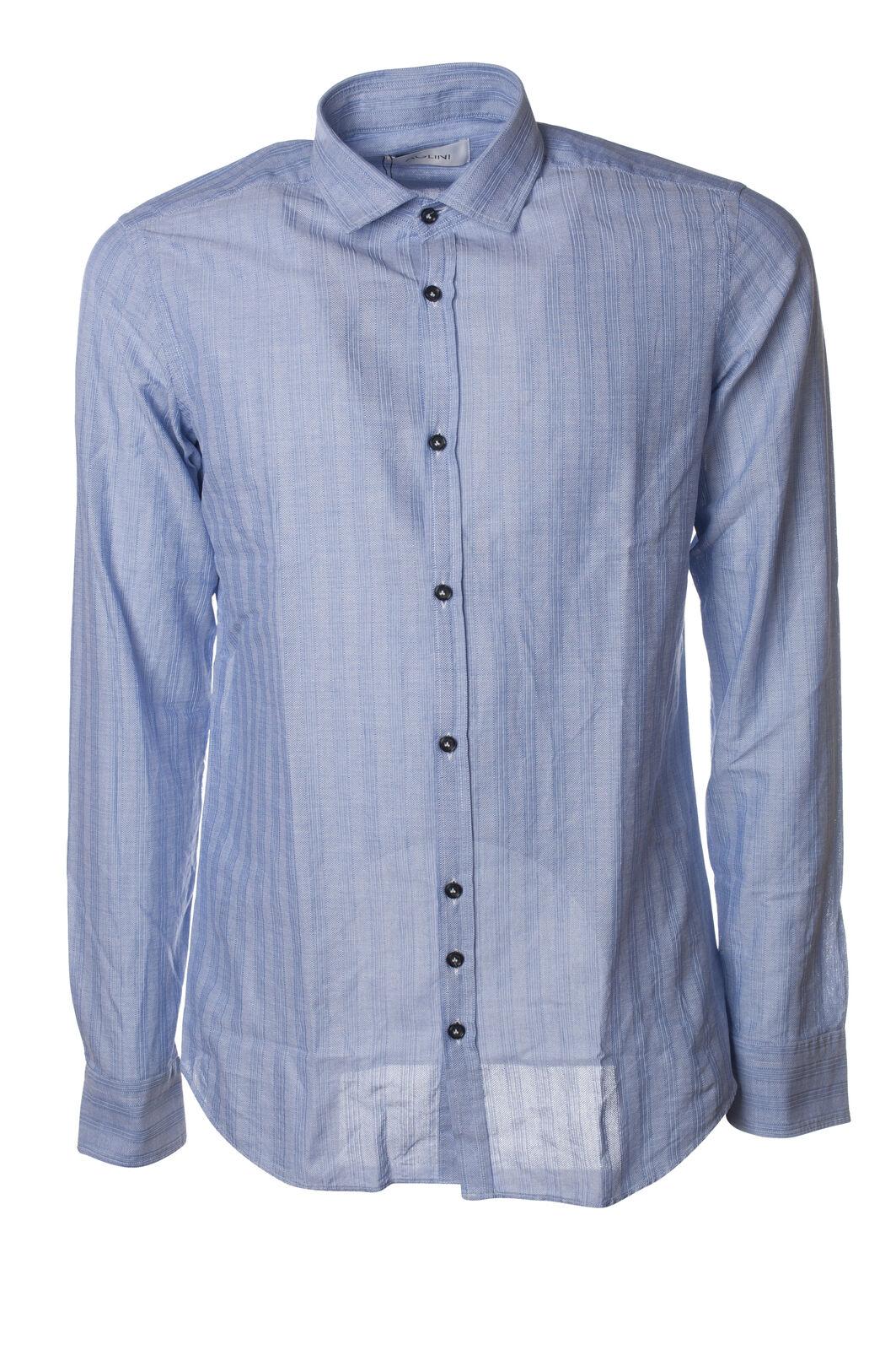 Aglini - Camicie-Camicia - Uomo - Blu - 6086609D191318