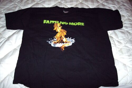 Vintage 1990 Faith No More T-Shirt XL Black 90s Ba