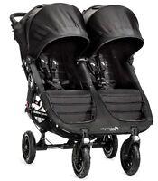 Baby Jogger City Mini Gt Double Twin All Terrain Stroller Black 2016