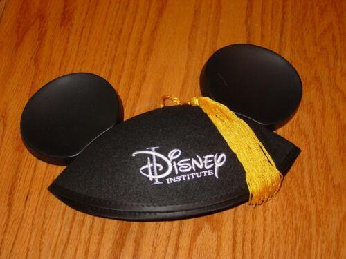 Disney Institute Graduation Tassel Mickey Mouse Ears Hat Adult NEW free ship