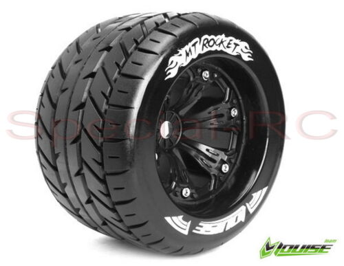 "Louise RC 18 3.8"" MT Rocket Tirewheels 0 offset 2 pcs LT3217B"