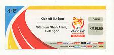 ORIG. biglietto WM qualifica 19.11.2013 Malesia-Qatar!!! RARO