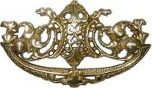 Cast Brass Victorian Drawer Pull