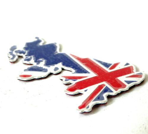 GREAT BRITAIN MAP Boot Sticker 3D Badge For Mini Clubman Cooper S Paceman Jaguar