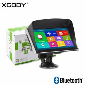 XGODY-826-7-034-AUTO-Navegador-GPS-Bluetooth-Transmisor-FM-8GB-AV-IN-Coche-Europa