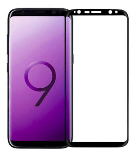 Samsung-Galaxy-S9-Plus-G965-3D-Full-Etui-Vollklebend-Verre-de-Protection-9H-Film