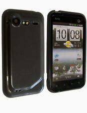Housse Softygel noire transparente HTC Incredible S
