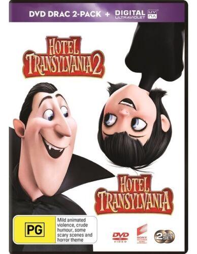 1 of 1 - Hotel Transylvania 1 & 2  : NEW DVD
