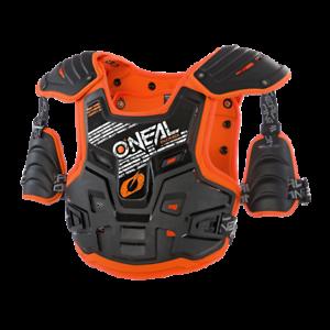 Uni Gr. O`Neal PXR Stone Shield Enduro Cross Brust und Rückenschutz orange sw