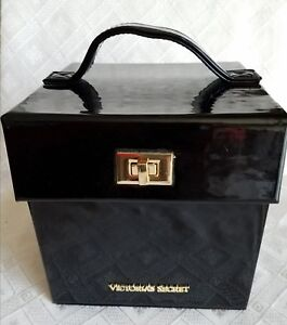 huge selection of 845a6 9d5aa Details about VICTORIA'S SECRET HARD CASE TRAVEL JEWELRY CASE BOX