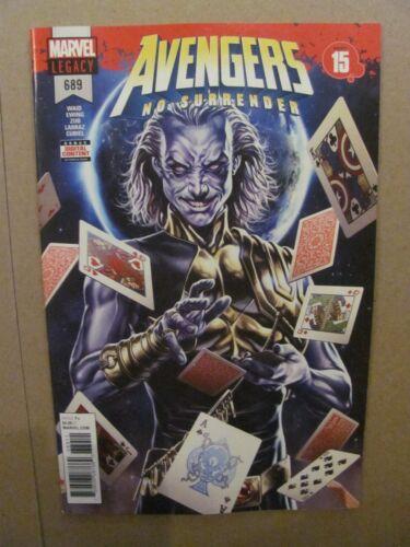 Avengers #689 Marvel Legacy 2018 No Surrender Part 15-9.6 Near Mint+