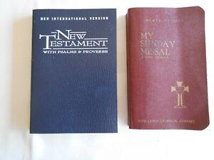 Pocket-Size-My-Sunday-Missal-NIV-New-Testament-W-Psalms-amp-Proverbs
