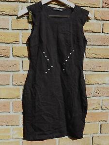 Shirtkleid von atmosphere Gr. 36 schwarz Kleid mit Nieten ...