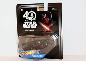 Disney Star Wars 40th Anniversary Celebration 2017 Hot Wheels Darth Vader