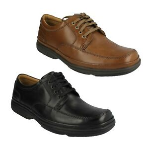 SWIFT MILE MENS CLARKS LEATHER EVERYDAY