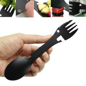 Portable-Multifunction-Spoon-Fork-Bottle-Can-Opener-Sawtooth-Cutter-Camping-BG