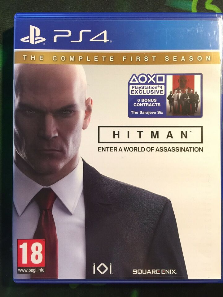 Hitman og Battlefield, PS4, action