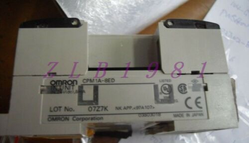 ONE USED OMRON CPM1A-8ED