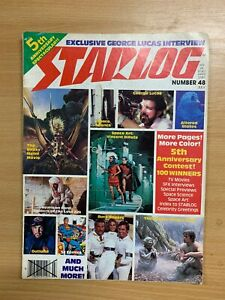 JULY-1981-STARLOG-MAGAZINE-48-SCI-FI-STAR-WARS-GEORGE-LUCAS-INTERVIEW