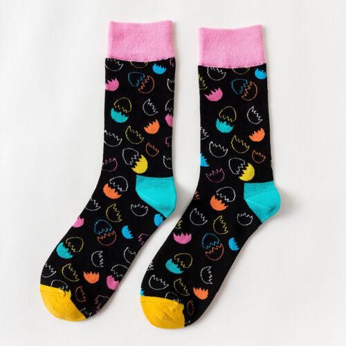 Combed Cotton Men/'s Socks Colorful Happy Funny Sheep rabbit Socks Wedding Gift