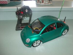 VINTAGE-RC-TAMIYA-VW-NEW-BETTLE-5817-RARE-HARD-TO-FIND-RTR-W-BATTERY