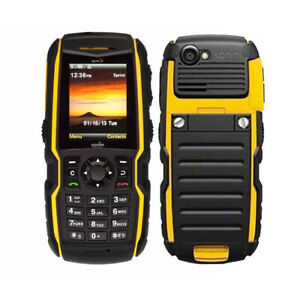 reputable site 41672 679ed Details about Sonim XP3410 Rugged Waterproof Cell Phone Black/Yellow for  Sprint 9/10