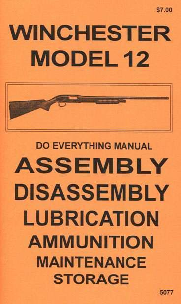 WINCHESTER MODEL 50 SHOTGUN MANUAL by M/&M Engineering