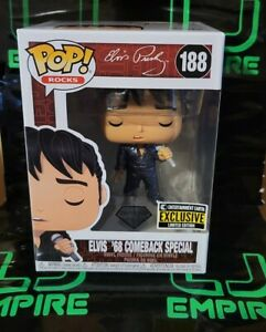 Funko-Pop-Elvis-Presley-68-Comeback-Diamond-Collection-EE-Exclusive-IN-STOCK