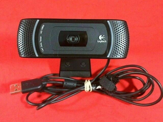 Logitech C910 Hd Pro 1080p Usb Webcam W Built In Mic Carl Zeiss