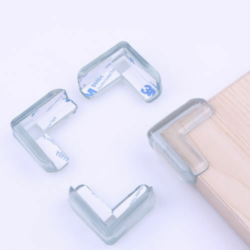 10pcs Clear Table Desk Corner Protector Edge Guard Cushion Baby Safety Per Er Ebay