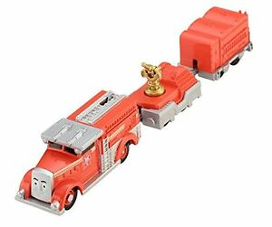 Details About Thomas The Train Trackmaster Motorized Flynn Fire Engine Wood Track Wooden Set
