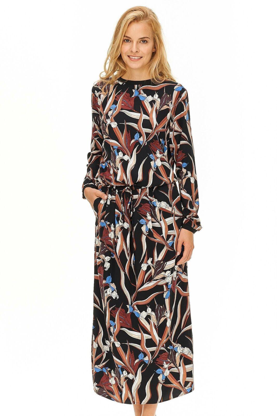 NÜ Denmark - Maxikleid Damen mehrfarbig Designer Neu    | Elegante Form  | Moderate Kosten  96f3aa