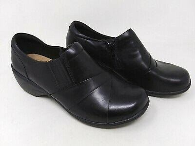 Black W32 New Women/'s Solesenseability 81095 Dakota Wedge Comfort Shoes