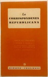 RSI-LA-CORRISPONDENZA-REPUBBLICANA-N-9-Libro-1944-XXII-Rep-Soc-Italiana