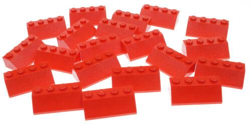 LEGO 3037 NEUWARE Dachsteine 45 Grad 2x4 rot 20 x Dachstein