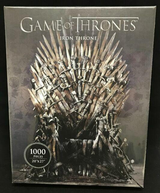 Dark Horse Deluxe Game Of Thrones Iron Throne 1000pc Puzzle For Sale Online Ebay