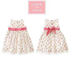NWT Janie and Jack THE SODA FOUNTAIN Cake Pastries Dress 3T VHTF Cupcake