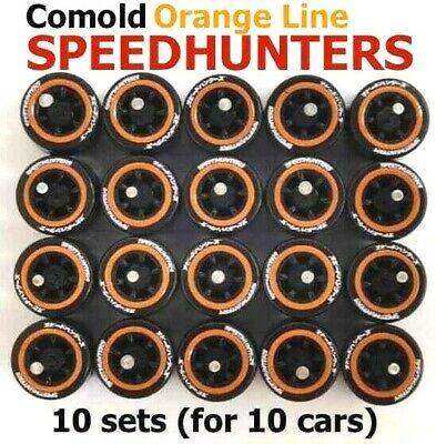 3 Sets Of 1//64 Gold 6 Spoke Plastic Comold Branded Yokohama Hot Wheels Matchbox