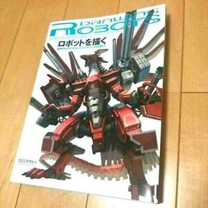 Drawing-Robots-Anime-Manga-How-to-Draw-Art-Guide-Book-Kaworu-Kasumi