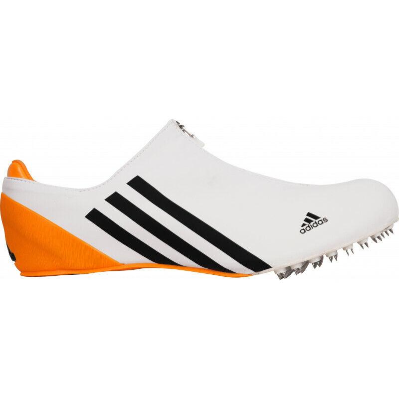 Mens Adidas Adizero Bobsleigh Spikes Football Soccer Sneakers Runners - White