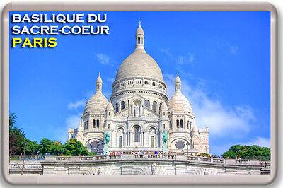 BASILIQUE DU SACRE-COEUR PARIS FRANCE FRIDGE MAGNET SOUVENIR IMAN NEVERA