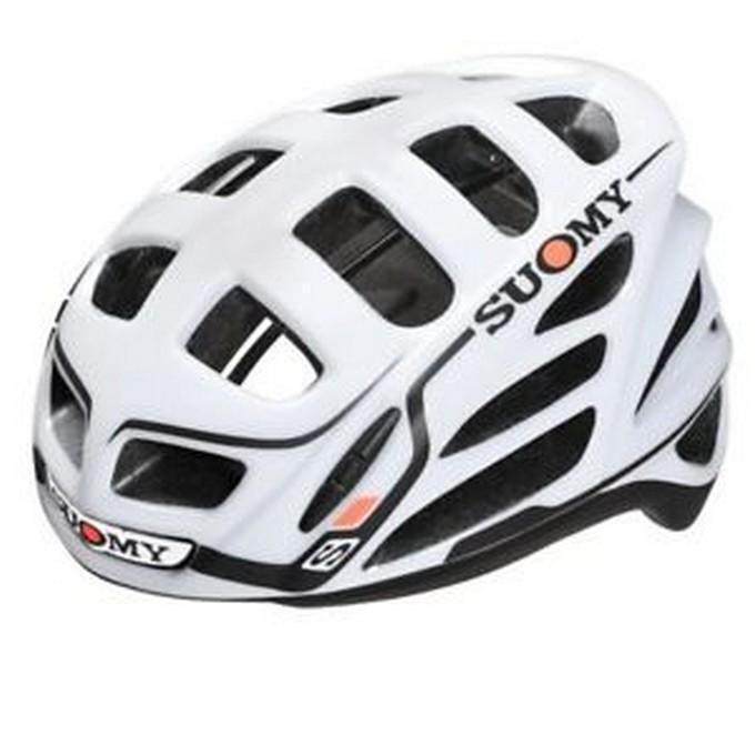 Suomy Casco Bicicletta Gunwind BiancoNero M