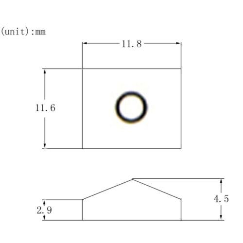 3x schwarze E Gitarren Kontermutter Klemme und Schrauben für Tremolo